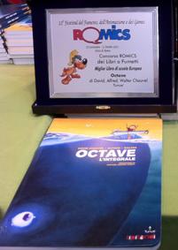 Octave, Premio Romics 2011