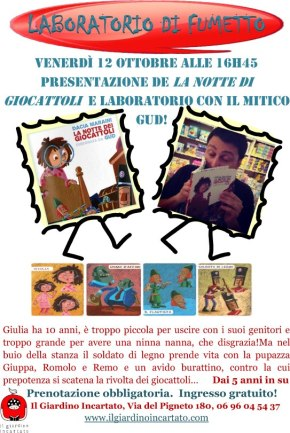 Laboratorio di fumetto con Gud